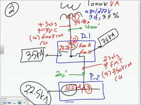Short Circuit Calculation 3 Phase By hand 11 29 12