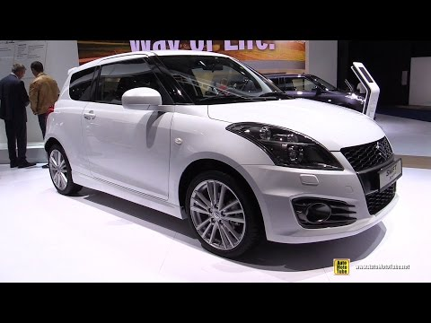 2016 Suzuki Swift Sport - Exterior and Interior Walkaround - 2015 Frankfurt Motor Show