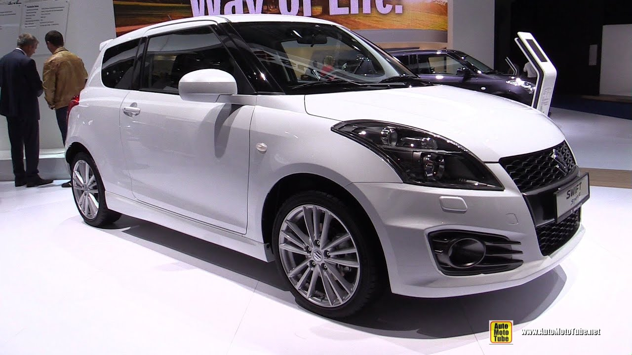 2016 Suzuki Swift Sport  Exterior and Interior Walkaround  2015