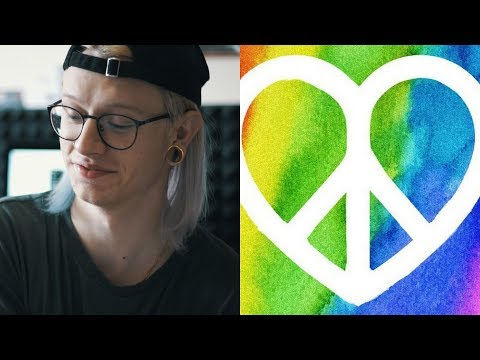 PEACE AND LOVE - Charlie Charles feat. Sfera Ebbasta & Ghali | REACTION