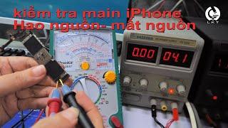 học sửa điện thoại và những điều cơ bản cần biết/điện thoại hao nguồn, mất nguồn