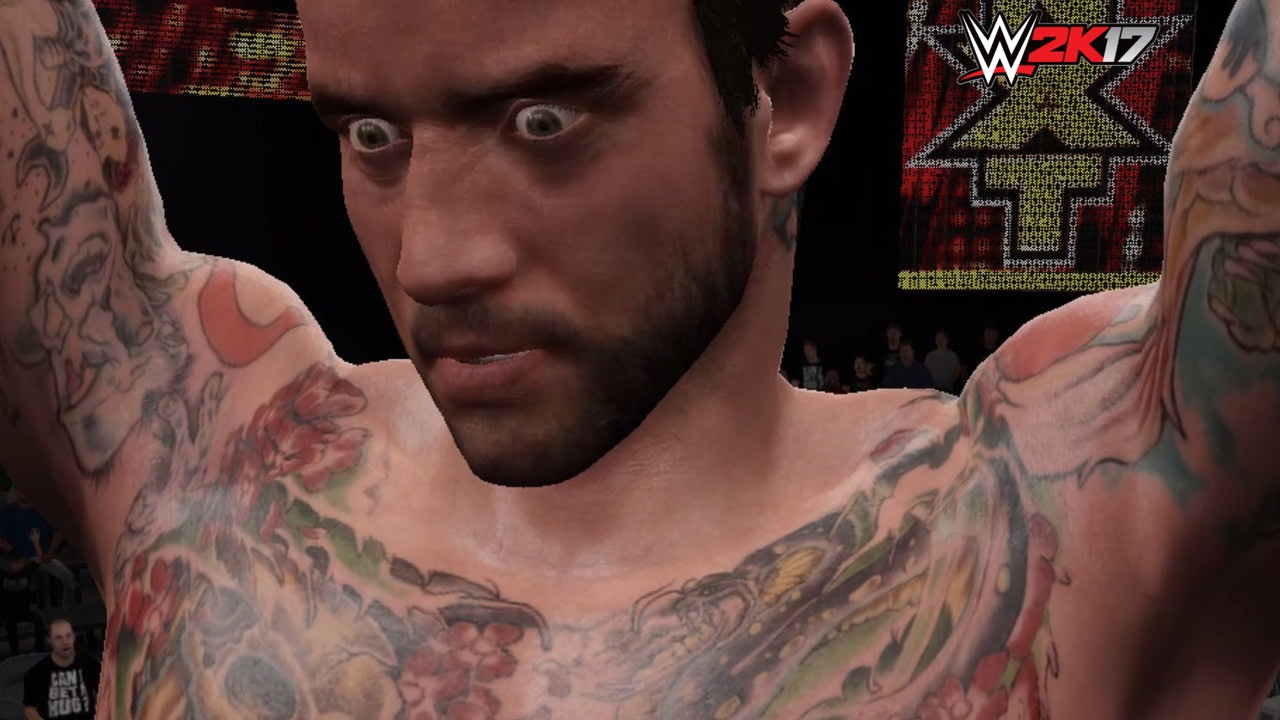 wwe 2k17 cm punk pc mod youtube. Black Bedroom Furniture Sets. Home Design Ideas