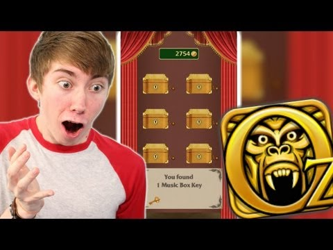 Temple Run: Oz - MUSIC BOX KEYS - Part 3 (iPhone Gameplay Video)
