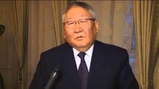 видео президент республики саха якутия