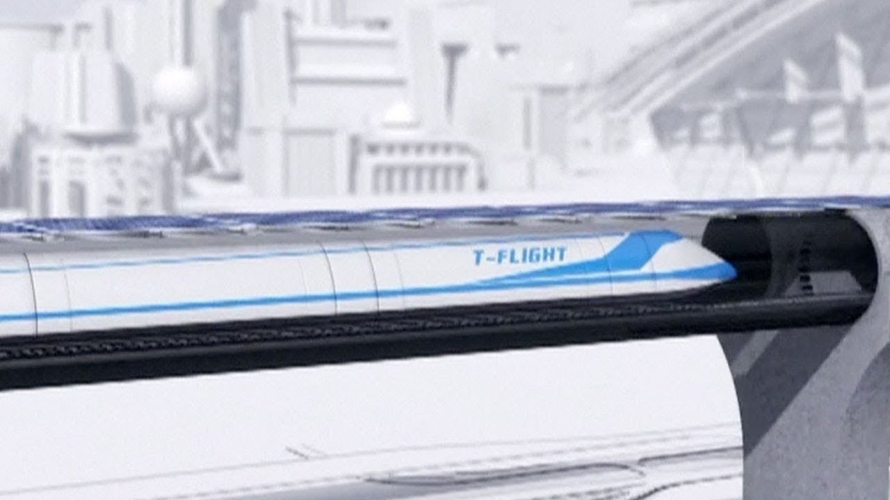 T-Flight - China's supersonic train would reach 4000 km/h