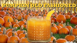 How To Make A Pumpkin Old Fashioned | Drinks Made Easy