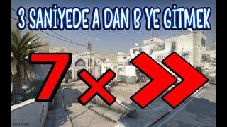 7 KAT HIZLI BİR ŞEKİLDE AWP İLE ACE ATMAK!! (CS:GO)