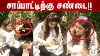 Vijay TV Priyanka's Food Fight  with KPY Nisha and Thankga Durai