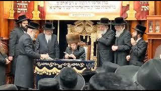 Tchilas Sefer Torah In Sadigura - 29 Nissan 5781