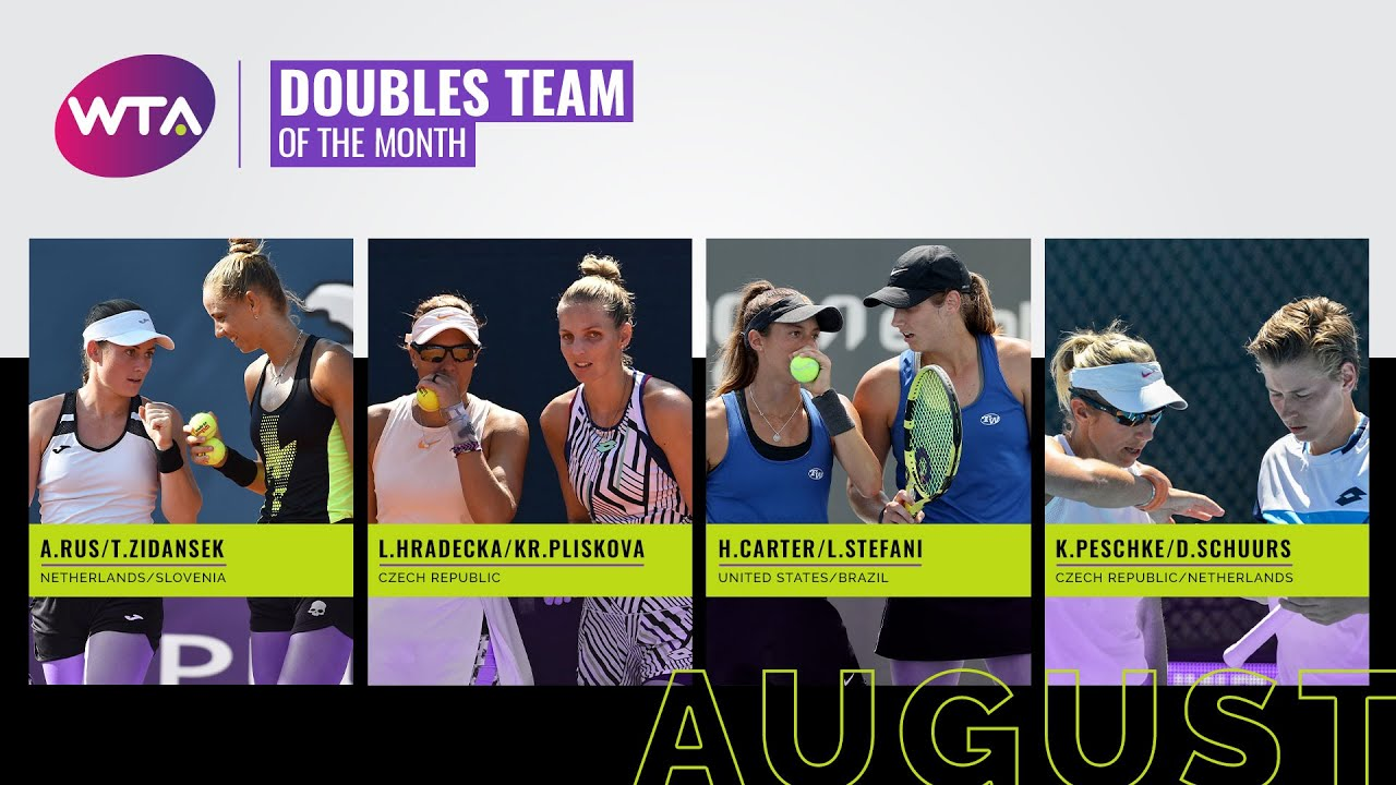 Doubles Team of the Month Contenders | August 2020