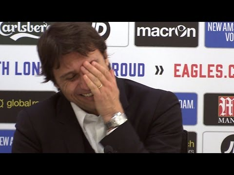 Antonio Conte's Hilarious Laugh When Asked If He Is The 'Armani' Of Football Managers 😂