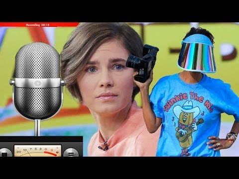 Amanda Knox Strikes Back, Illegal Sterling Recordings + More