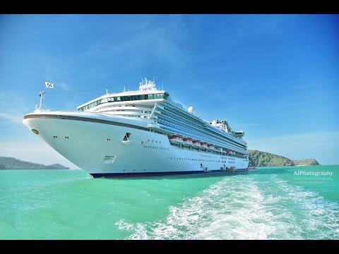 Sapphire Princess Cruise, Singapore, Langkawi, Penang, Malaysia - Our first anniversary trip - 4k HD