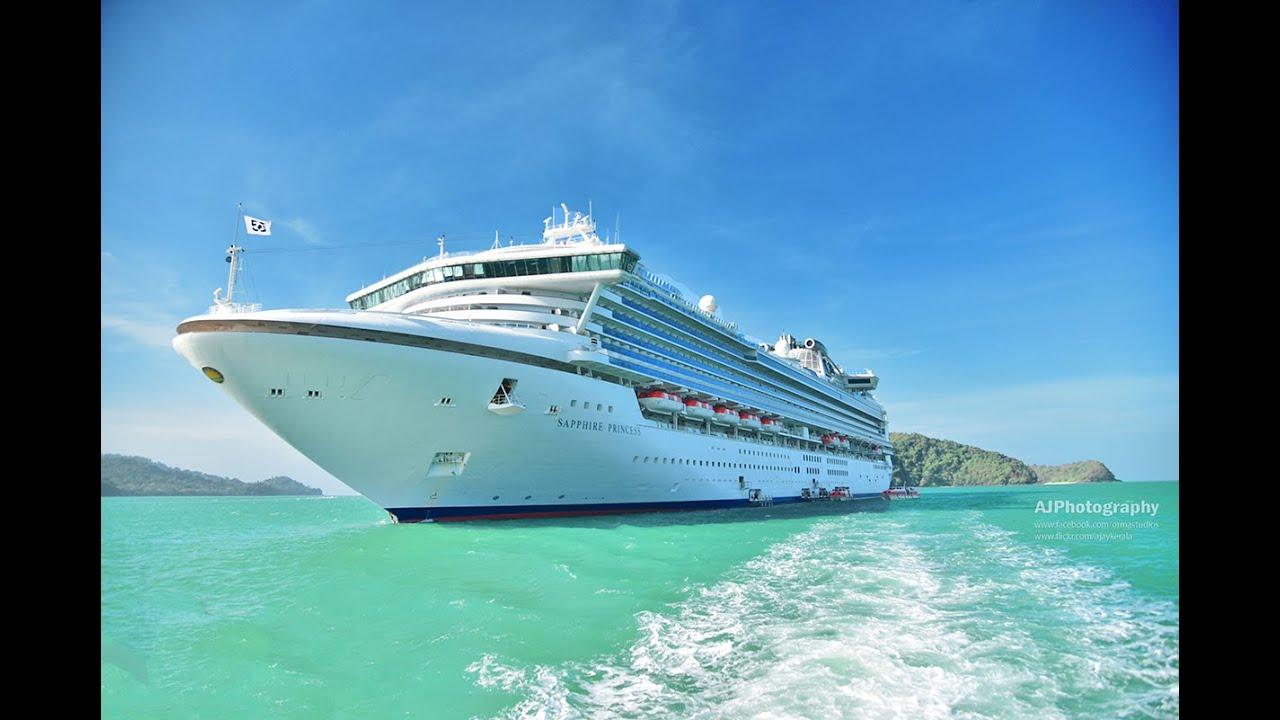 Sapphire Princess Cruise Singapore Langkawi Penang