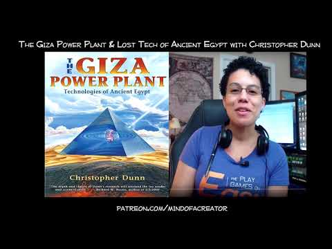 Giza Power Plant & Lost Tech of Ancient Egypt with Christopher Dunn