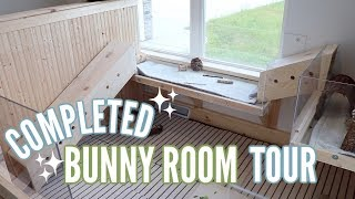 COMPLETED BUNNY ROOM TOUR! 🐰