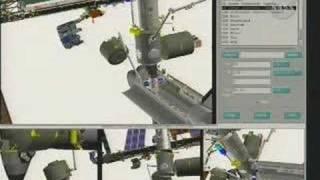 STS123: Kibo Module installation2