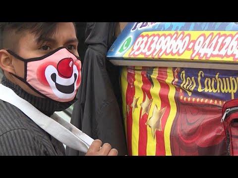 شاهد في البيرو.. عروض سيرك في الشارع لنشر الفرح وجني المال…  - نشر قبل 5 ساعة