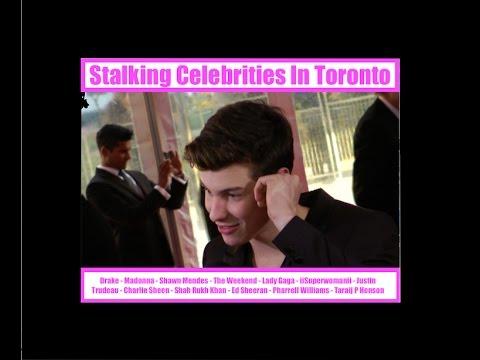 Stalking Celebrities In Toronto - Drake, Madonna, Sean Mendes,  Nick Jonas
