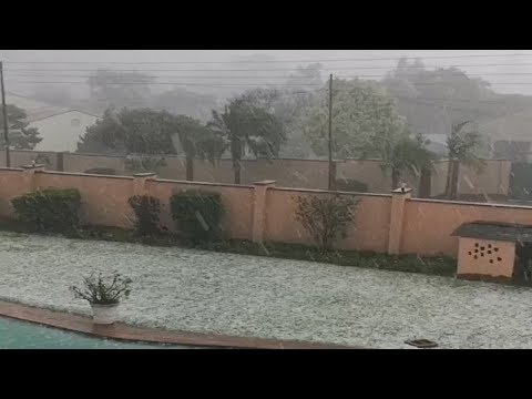 Hailstorm & Floods swept through Harare, Zimbabwe (Dec 6, 20