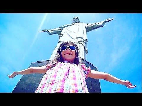 FUI DE TREM ATÉ O CRISTO REDENTOR!!! ★ Passeio no Rio de Janeiro e muita diversão no Corcovado VLOG