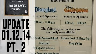Repeat youtube video Disneyland Visit 01/12/14 Pt. 2 - UHS mini-rant and closed rides