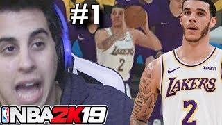 Lonzo's Complicated Career Begins - NBA Career Adventure - Episode 1