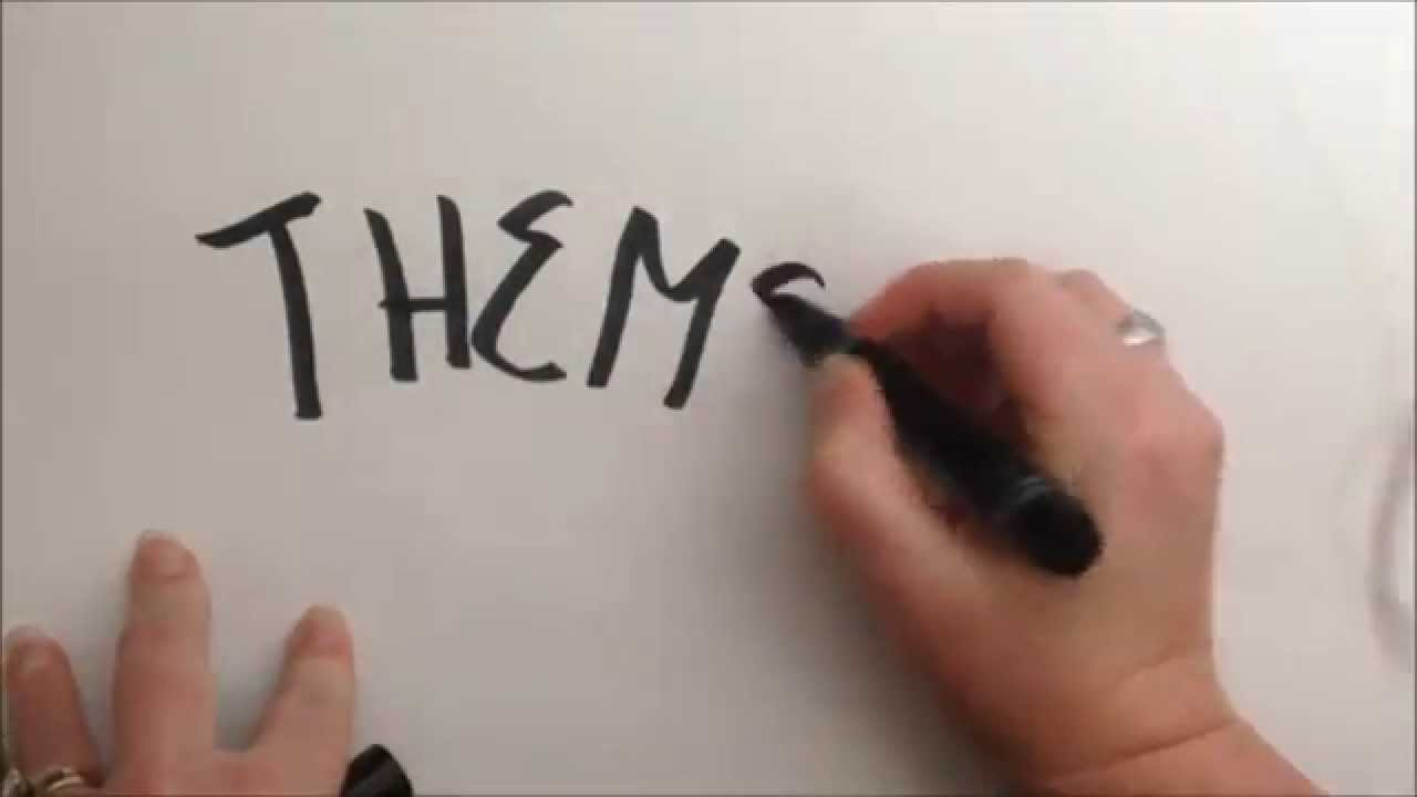 medium resolution of The only way you will ever need to teach theme - YouTube