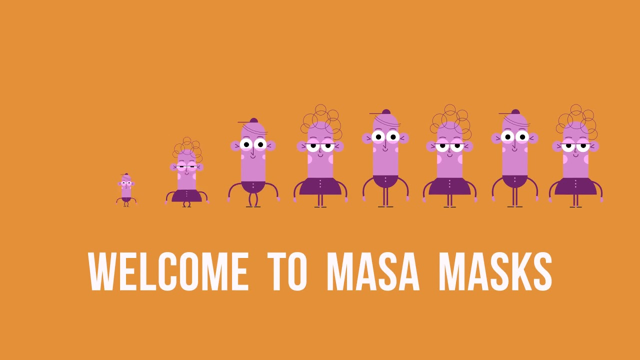 Masa Masks : Cotton Face Mask