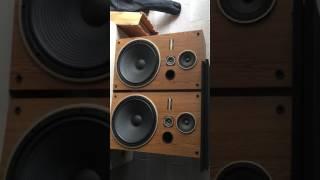Vintage Pioneer Watt Way Speakers Cs