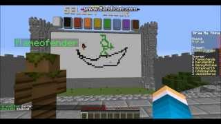 Minecraft Mini Game - Draw My Thing - Its A Pony!