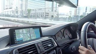 【車載】BMW M4コンペティション 加速 シフトダウン 空吹かしサウンド/【Onboard】F82 BMW M4 competition. Exhaust sound. Shiftdown Rev!