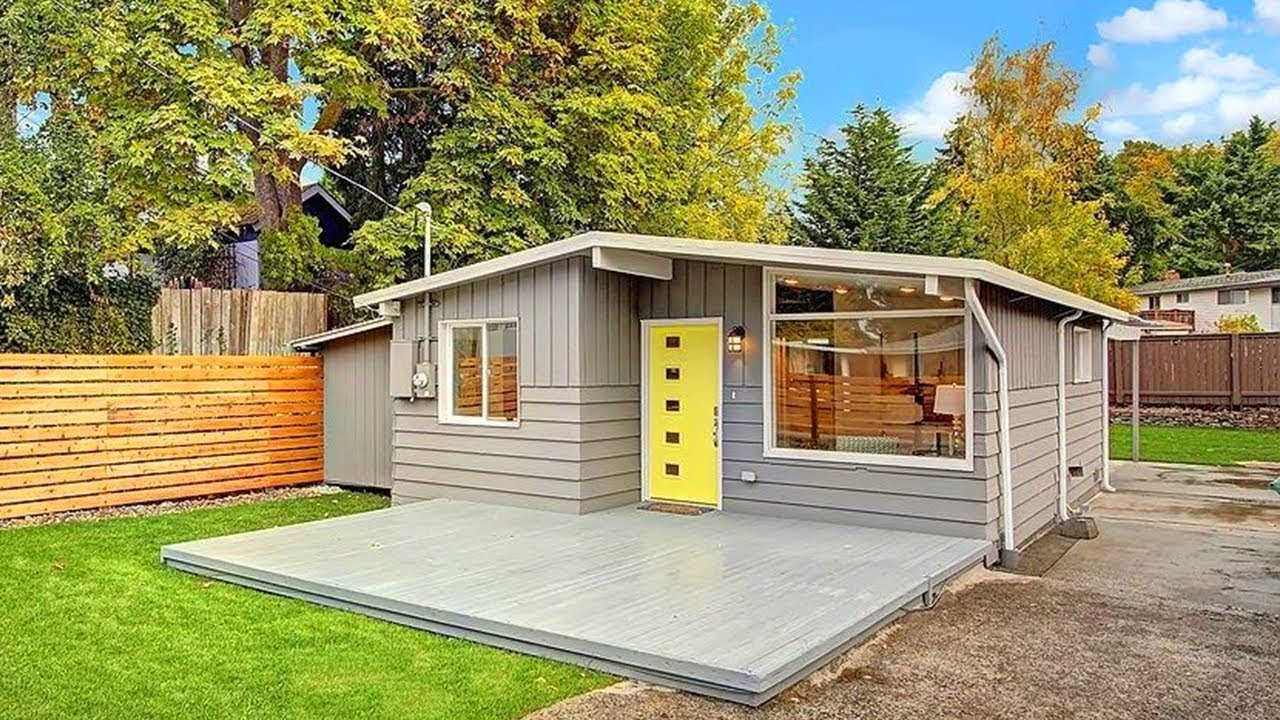 Tiny Home Designs: Seattle Modern The Best Small House Design I've Ever Seen