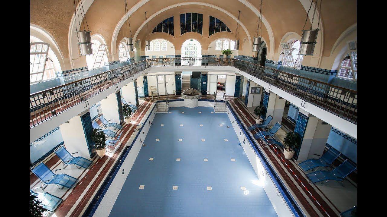 Im Merkelschen Bad in Esslingen wurde das Wasser