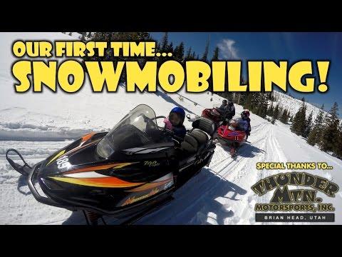 TTL Nerd | Our First Time Snowmobiling - Brian Head, Utah