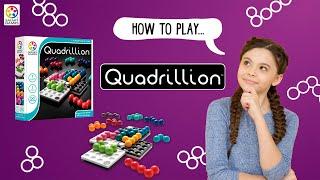 How to play: Quadrillion (SmartGames)