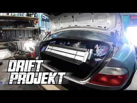 Drift Projekt - BMW e46 #9 - Chłodnica w bagażniku