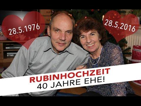 Rubinhochzeit - 40 Jahre Ehe | Vlog 31 | Sabrina Andexer