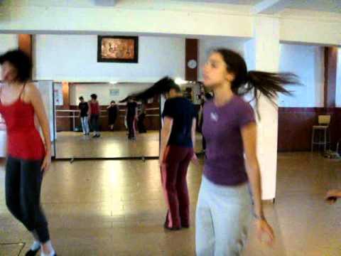 [20101117] JAZZ - Ensayo Coreografia 2 (video 01)