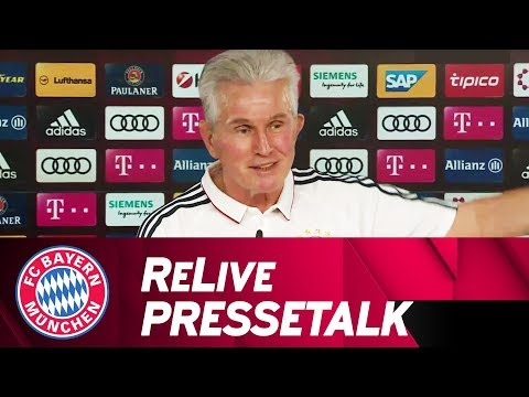FC Bayern Manager's Preview w/ Jupp Heynckes ahead of SC Paderborn 🇩🇪   ReLive