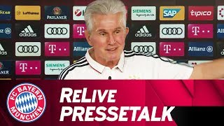 FC Bayern Manager's Preview w/ Jupp Heynckes ahead of SC Paderborn