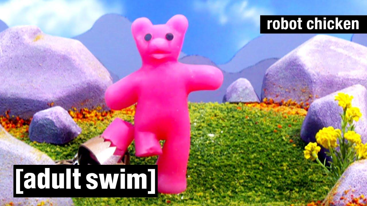 Robot Chicken | Das Beste von Gummy Bear | Adult Swim