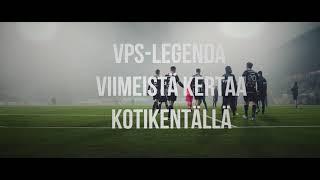 VPSTV: Legendan jäähyväiset tänään Elisa Stadionilla
