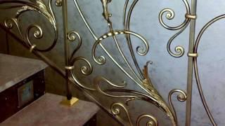 Видео 1  Красивые кованые перила Днепропетровск ковка Днепр купить цена стоимость дизайн перил(, 2016-10-21T12:25:25.000Z)