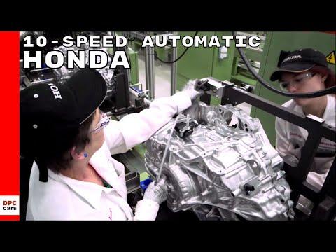 Honda 10-speed Automatic Transmission Factory