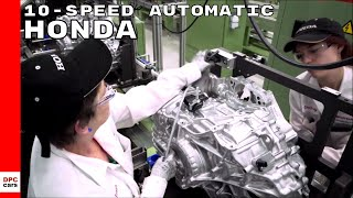 Honda 10-speed Automatic Transmission Factory thumbnail