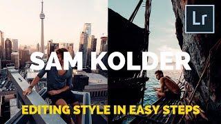 Sam Kolder Editing Style in Easy Steps (@sam_kolder) with Preset