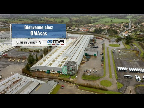 Vidéo Marketing de l'industrie OMA à Cerizay en Deux-Sèvres