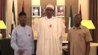MERRY CHRISTMAS NIGERIA FROM PRESIDENT MUHAMMADU BUHARI