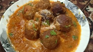 Mutton Malia Kofta|Restaurant style Malia koftas,  Stuffed with dry fruits